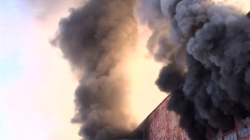 incendiu hala Suceava