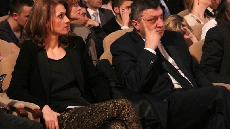 Alina Gorghiu si Teodor Atanasiu