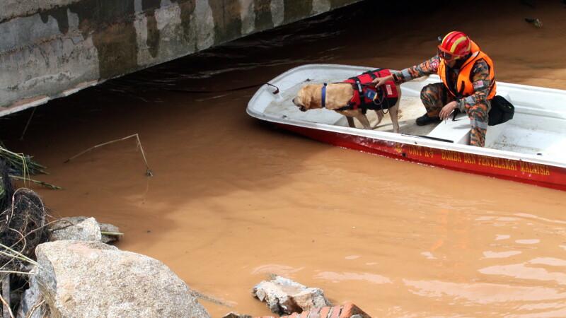 Premierul malaysian, criticat pentru lipsa de reactie in cazul inundatiilor devastatoare. Ce facea Najib Razak in acest timp
