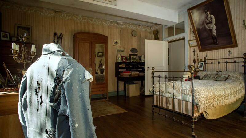 Incursiune in istorie. Cum arata camera unui soldat din Primul Razboi Mondial, nemodificata de 100 de ani