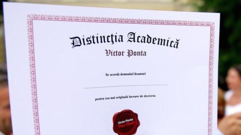 Scrisoare deschisa: Ponta incearca sa renunte la titlul de doctor fara ca plagiatul sa fie oficial recunoscut