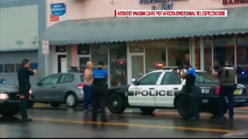 barbat impuscat in Miami