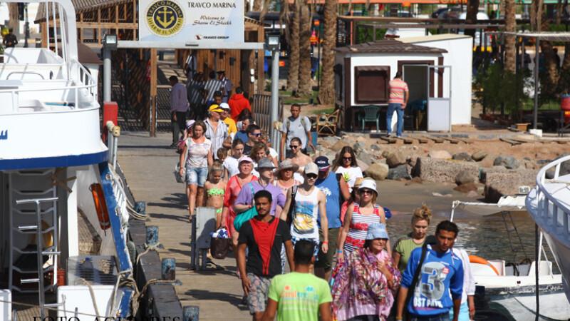 turisti in Egipt la Sharm-el-Sheikh