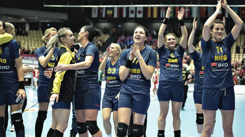 Danemarca - Romania, handbal