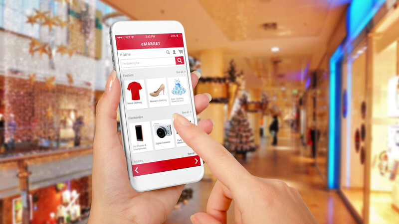 cumparaturi, online, Craciun - shutterstock