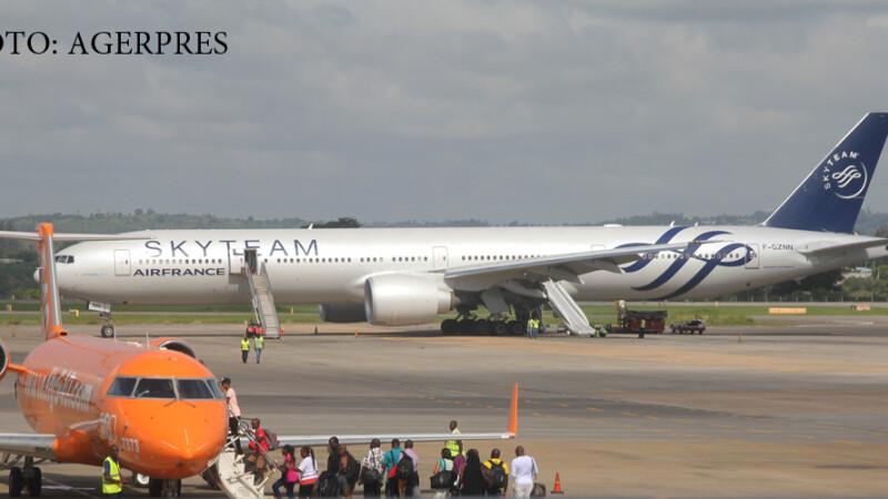 avionul Air France aterizat fortat in Kenya