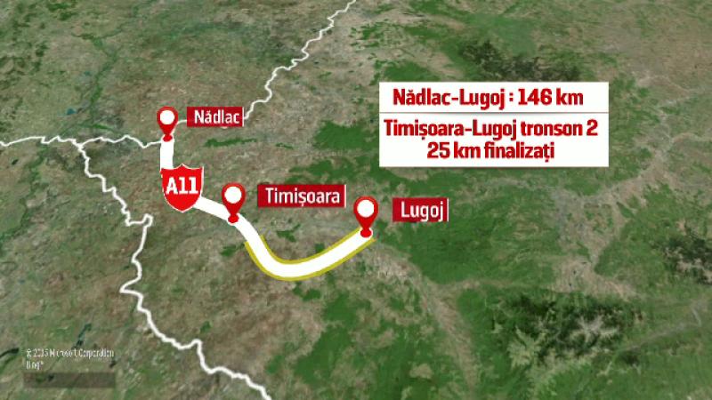 autostrada Timisoara - Lugoj