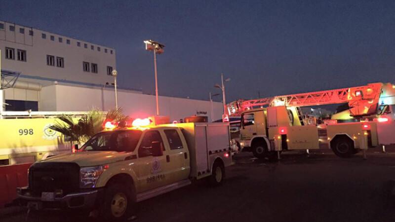 incendiu la un spital din Arabia Saudita