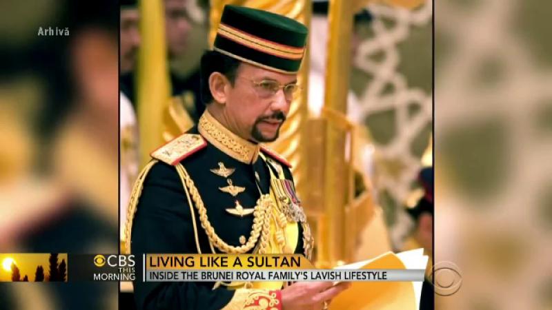 sultanul din Brunei