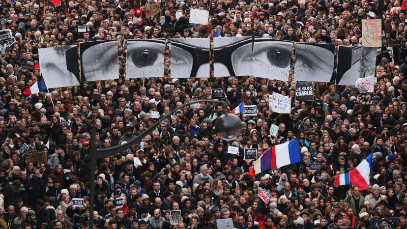Je Suis Charlie - getty