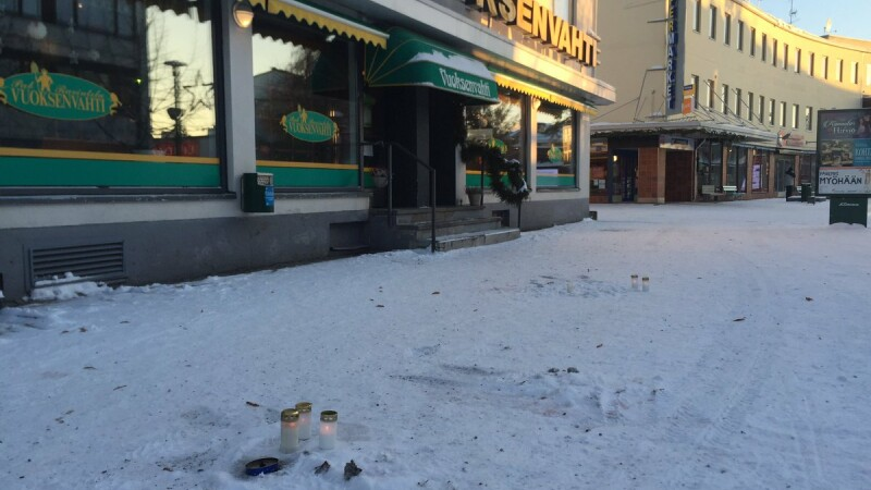 finlanda, scena atacului