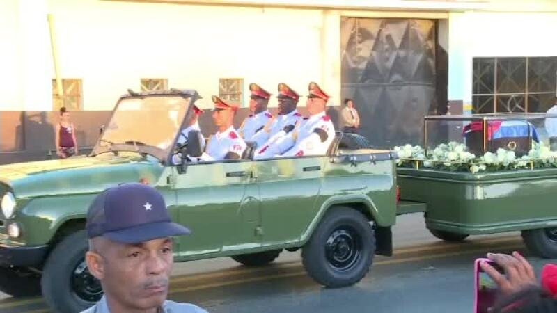 Ceremonie Fidel Castro