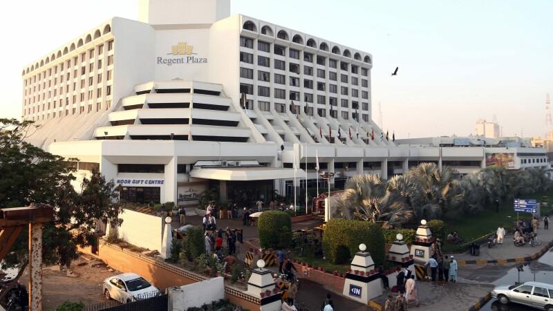incendiu hotel Pakistan - agerpres