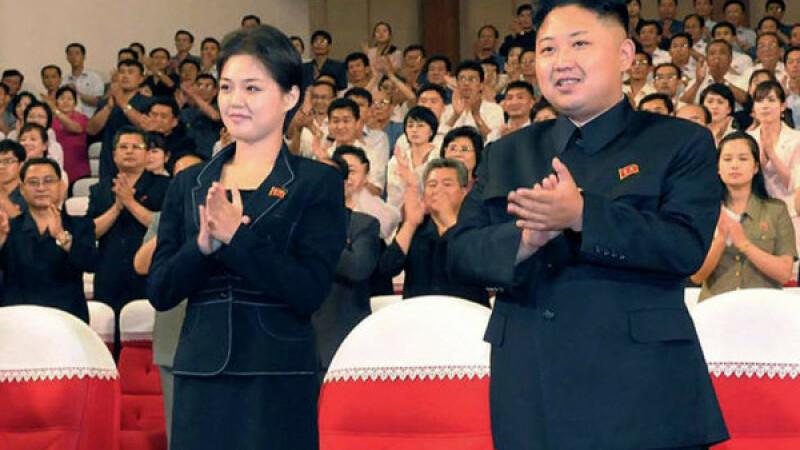 sotia lui Kim Jong Un