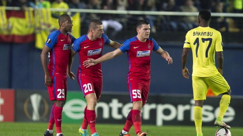 Villarreal - Steaua 2-1. Steaua a ratat calificarea in primavara europeana. Primele reactii dupa meci