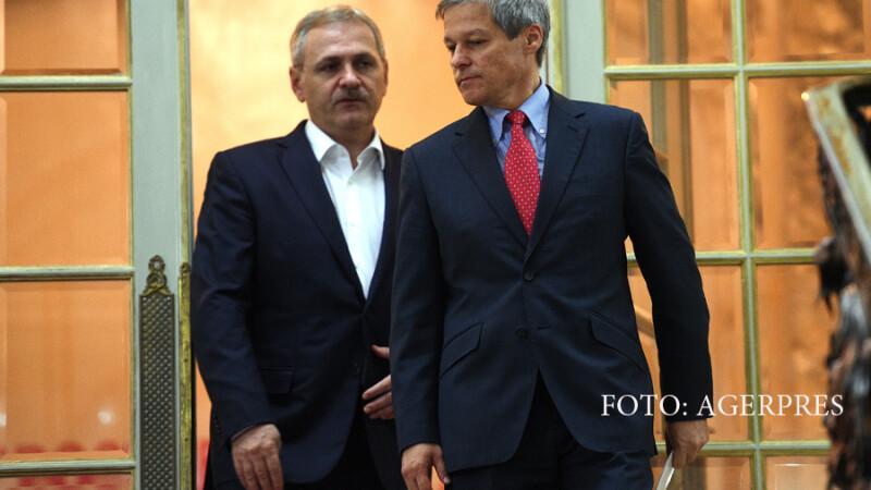 Liviu Dragnea i-a cerut lui Ciolos sa amane reducerile de taxe. Premierul:
