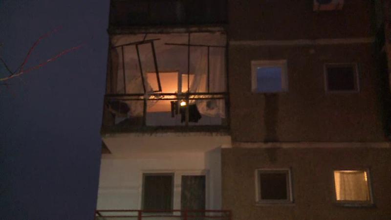 O femeie a sarit de la etaj, dupa ce butelia a explodat in apartamentul ei din Capitala. In ce stare se afla acum