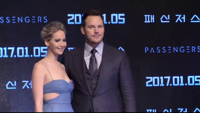 Jennifer Lawrence si Chris Pratt