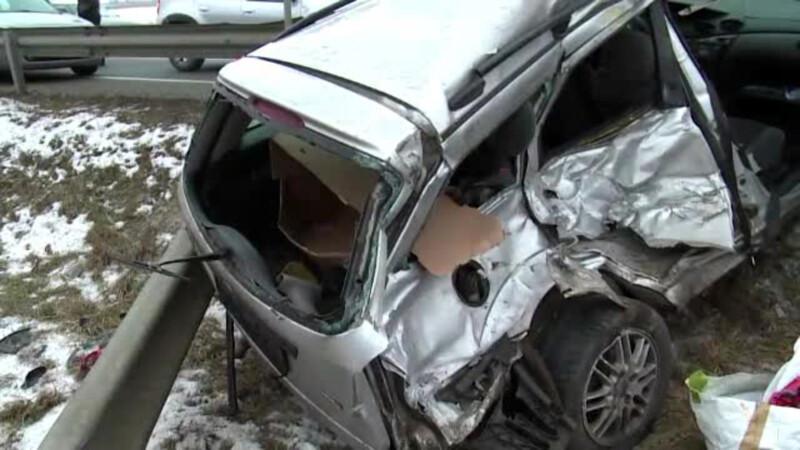 Doua tinere au murit zdrobite in masina in Bistrita Nasaud. Ce le-au spus rudele inainte de a se urca in autovehicul