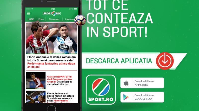 iLikeIT. Cel mai citit site de sport din Romania si-a lansat aplicatie de mobil, GRATUITA. Ce avantaje au utilizatorii
