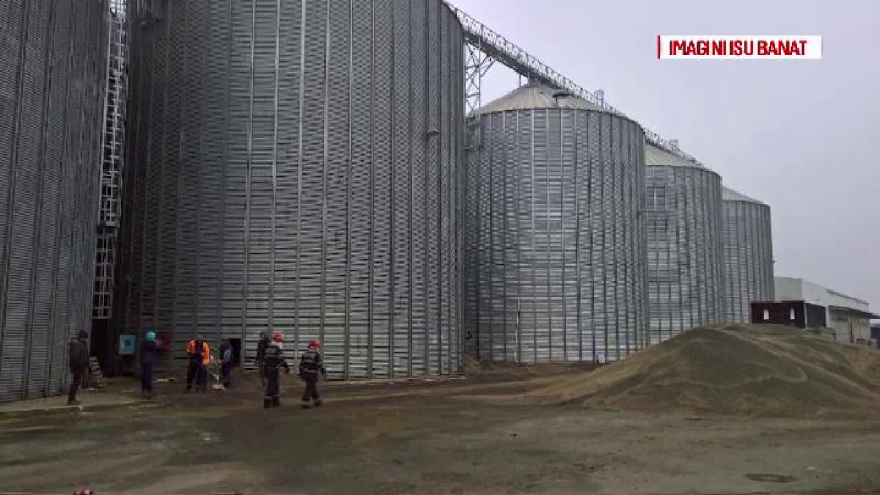 Tragedie in Timis, unde un adolescent de 16 ani a murit strivit de 700 de tone de cereale. Ce suspecteaza politistii