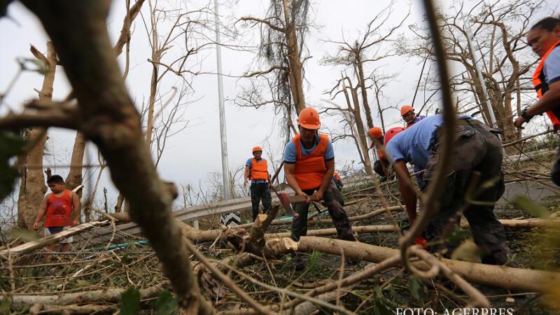 Tara care va fi lovita de un taifun chiar in ziua de Craciun. Jumatate de milion de oameni trebuie sa-si paraseasca casele