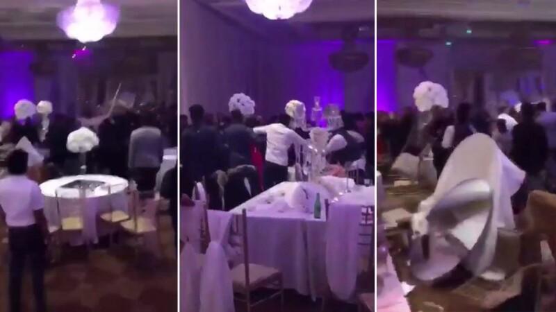 O nunta s-a transformat intr-un ring de box in Canada. Gestul pe care l-a facut fostul iubit al miresei. VIDEO