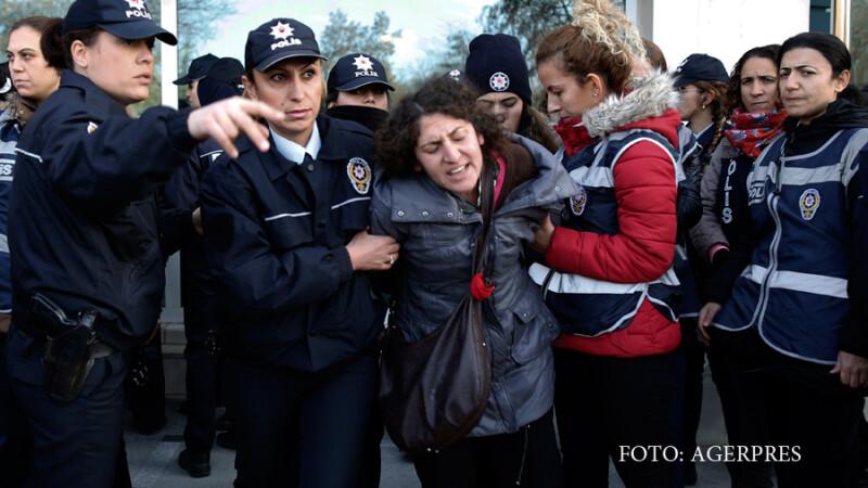 politie Turcia arestari