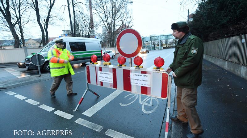 Centrul orasului german Augsburg, evacuat din cauza unei bombe neexplodate. Un sfert din locuitori, scosi din case de Craciun