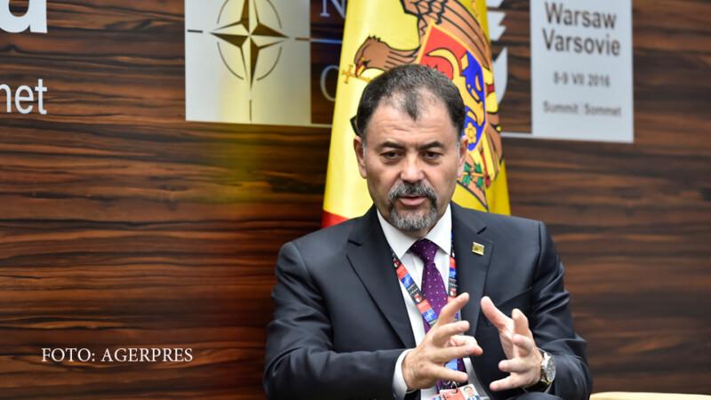 Anatol Salaru ministrul Apararii din Republica Moldova
