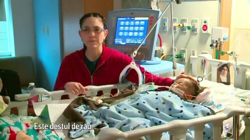 Miracol de Sarbatori pentru un bebelus care s-a nascut cu o boala grava. Medicii spun ca nu au mai intalnit asa ceva
