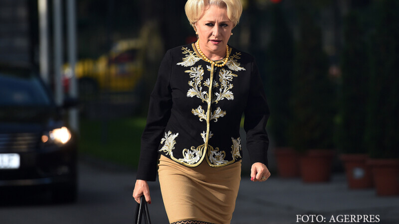 Viorica Dancila, presedinte interimar al OFSD, soseste la sedinta Biroului Permanent National (BPN).