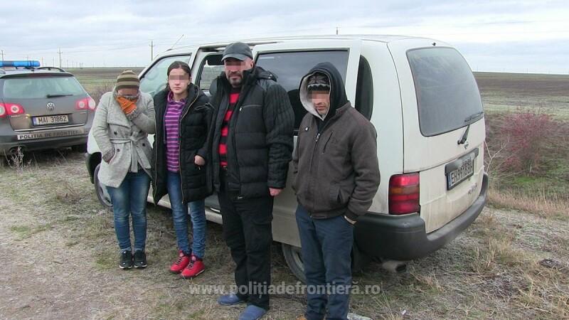 Retea de traficanti si calauze, descoperita in Constanta. Politistii de frontiera au retinut 5 bulgari