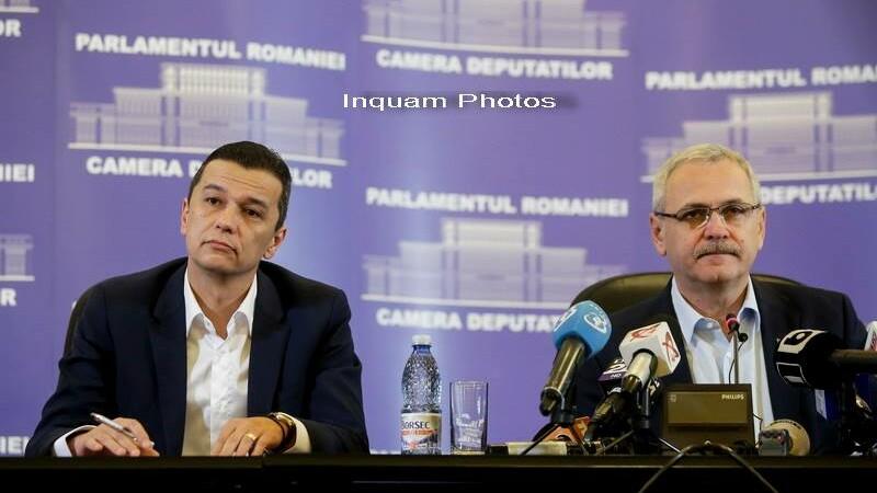 Sorin Grindeanu si Liviu Dragnea