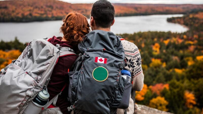 Canada, călători