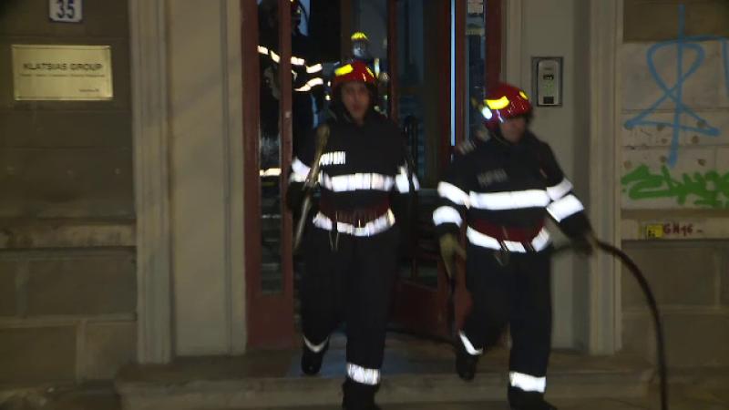 Incendiu in Bucuresti