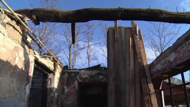 Incendiu casa Dâmbovita