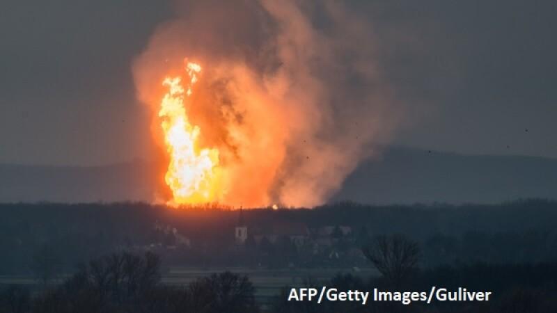 Europa rămâne fără gaze, după explozia din Austria. Italia declară starea de urgență. Decizia Gazprom