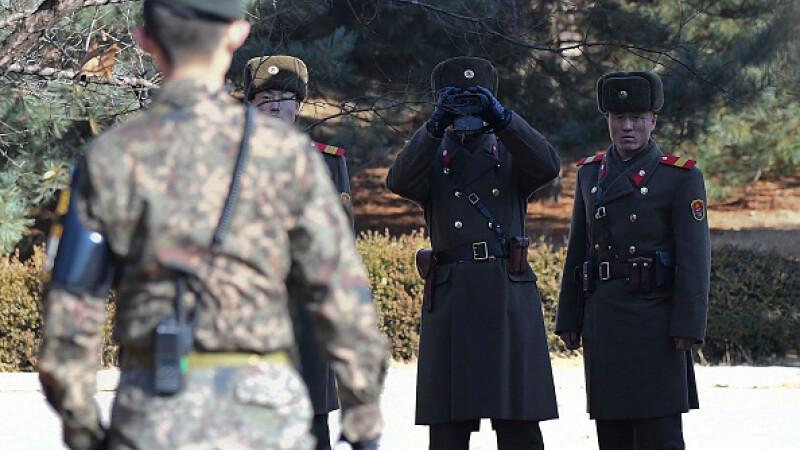 Un soldat nord-coreean a dezertat și s-a refugiat în Coreea de Sud
