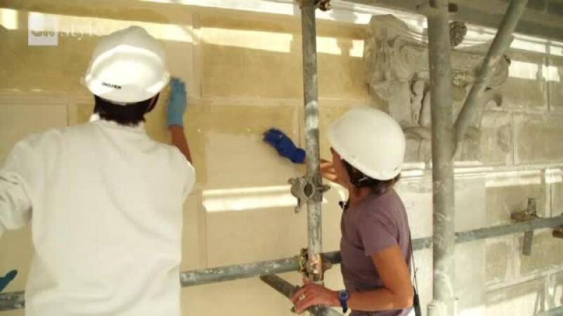 restaurare cladiri vatican