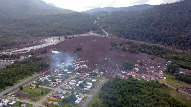 Alunecări de teren, în Chile: 5 morți și 15 răniți