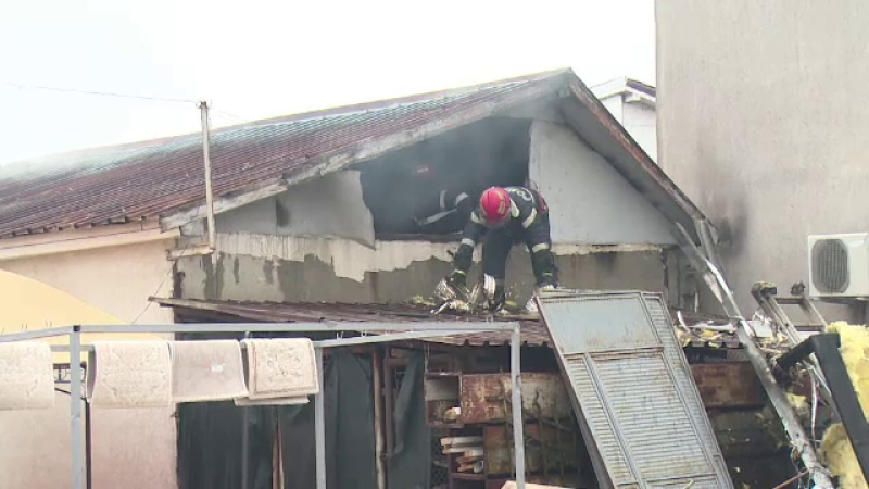 Incendiu spalatorie Oradea