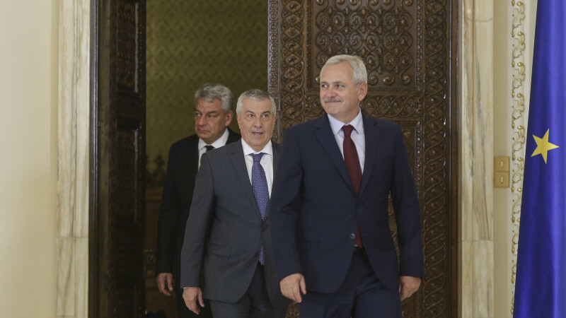 Dragnea, Tariceanu, Tudose
