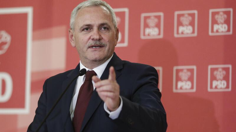 """Liviu Dragnea susține că doi membri din Guvern ar fi fost """"sfătuiți"""" să se pregătească pentru a prelua conducerea PSD"""