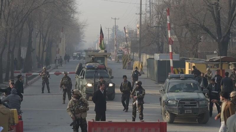 Atac sinucigaș în Kabul