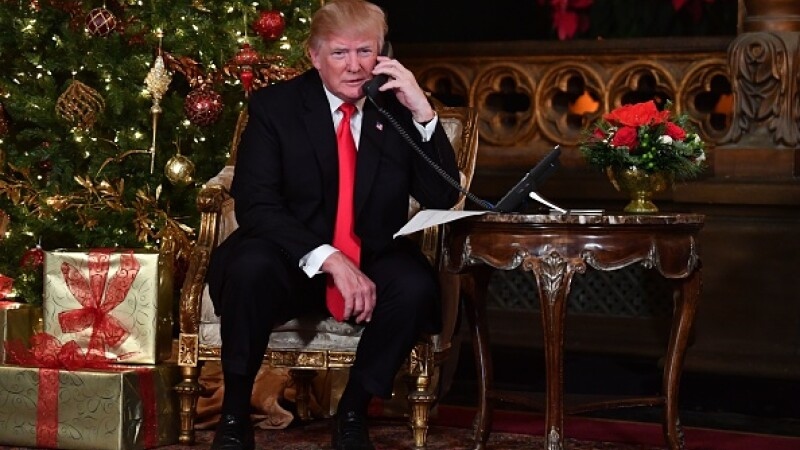 Donald Trump, Crăciun