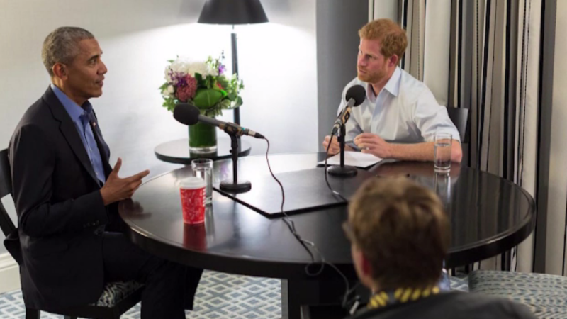 Obama, intervievat de Prințul Harry. Serialul preferat de fostul șef de la Casa Albă