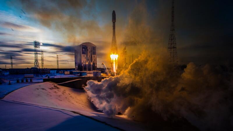 lansare racheta Soyuz