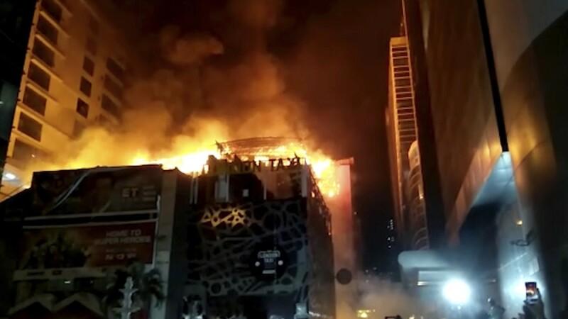 Incendiu cu cel puţin 15 morţi, la o clădire de birorui din Mumbai