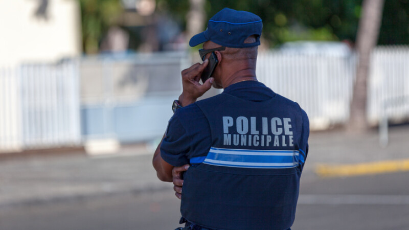 agent al politiei locale din Franta
